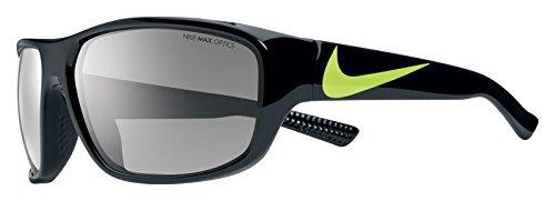 Nike Herren Mercurial Ev0887 007 60 Sonnenbrille, Silber (Blk/VLT Gry Lns W/Sl)
