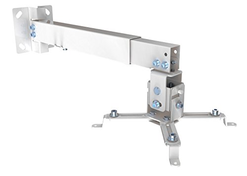 RHOMBUTECH® Universal Wand/Deckenhalterung für Beamer & Projektoren (Beamer Halterung II)