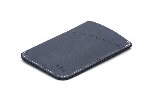 Bellroy Herren Leder Geldbörse und Karten Etui Card Sleeve, Farbe: Blue Steel Blue Steel