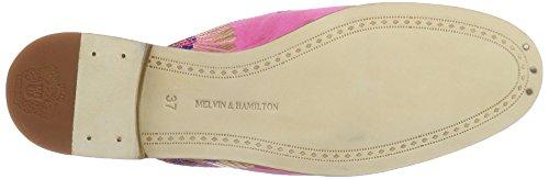 Melvin & Hamilton Scarlett 2, Mules femme Pink (Korela Rosa 2 Tassel Rosa Orange Accgold LS NAT)