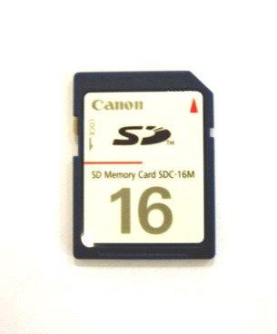 Canon SDC-16M Secure Digital Memory Card SD Powershot Interno Unidad de Disco óptico