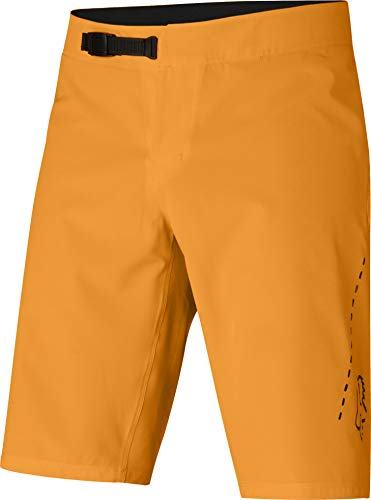 Fox Racing Stoff (Fox Flexair Lite Baggy Shorts Herren Atomic orange Größe US 28 2019 Fahrradhose)