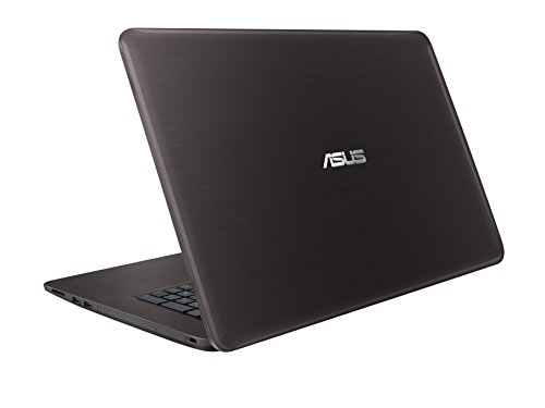 Asus F756UQ T4147T 439 cm 173 Zoll mattes FHD Notebook Intel central i7 7500U 16GB RAM 256GB SSD 1TB HDD NVIDIA GeForce 940MX DVD Laufwerk Win 10 residential dunkelbraun Notebooks