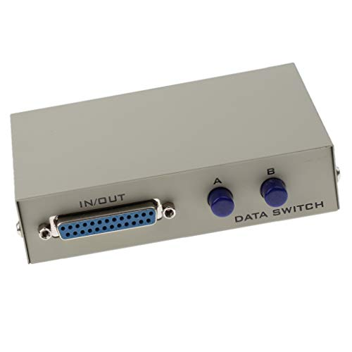 25-polig Switch Box (D DOLITY Drucker Db25 Pin Parallelschaltbox Handbuch 2 Ports Data Sharing Switcher)