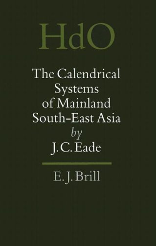 the-calendrical-systems-of-mainland-south-east-asia-southeast-asia-section-3-handbook-of-oriental-st