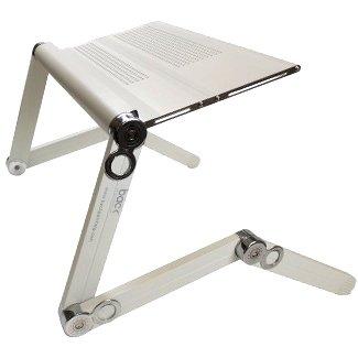 BACK Support d'ordinateur portable de posture | Support d'ordinateur portable ou tablette pliable réglable | Support d'ordinateur ergonomique pour bureaux