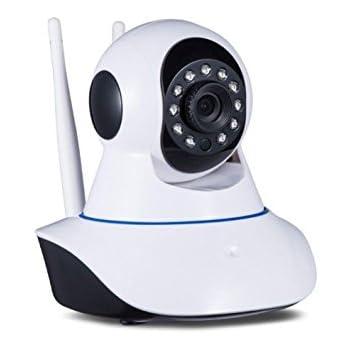 Telecamera IP Camera HD 720p Wireless WI FI LED IR motorizzata wifi rete Internet