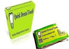 Provisorischer Zahnersatz Selbsthilfe in 10 min - Einzelpaket
