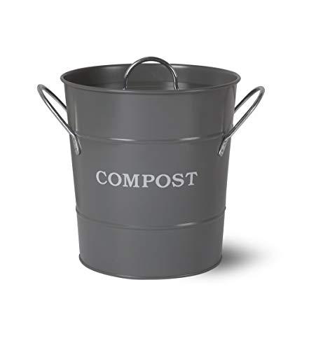 Garden Trading Komposteimer, Anthrazit