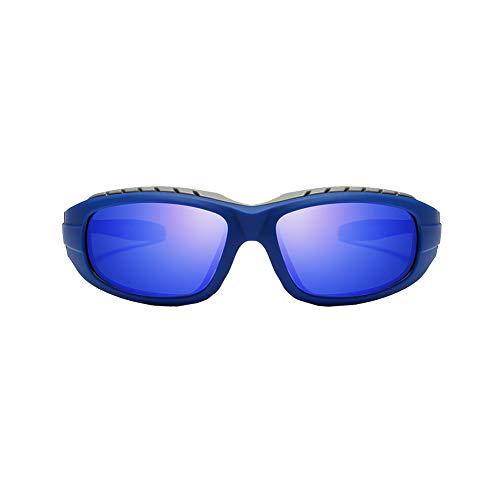 YSAGNZQ Polarized Glasses - Mens Fashion Sonnenbrille zum Fahren Radfahren Angeln Golf Anti Glare UV-Schutz Superlight Sport Goggle,Blue