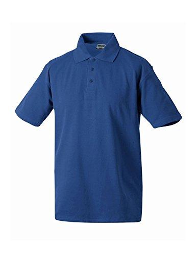 Klassischen Herren Polohemd Polo Shirt Poloshirt Royal