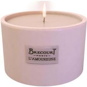 Brecourt L'Amoureuse Bougie, 130 g (poids total 282 g)