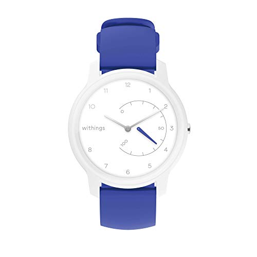 Withings Move Unisex-Adult, Bianco & Blu, 38mm
