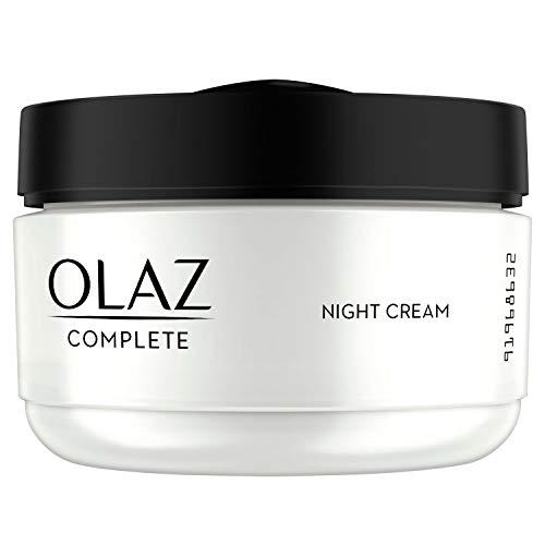 Olaz Complete Nachtcreme für Normale und Trockene Haut, 50ml - Anti-aging-feuchtigkeitscreme Normale Haut