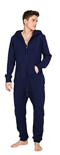 Moniz Herren Jumpsuit (L, Midnight Navy)