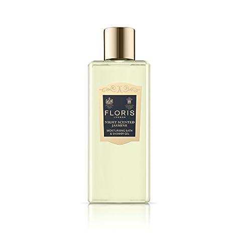 Floris London Night Scented Jasmine Moisturising Bath and Shower Gel 250 ml