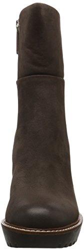 Tommy Hilfiger I1285leen 17n, Bottes Classiques femme Marron - Braun (Dark Brown 201)