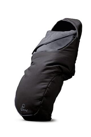 Quinny Universal-Fußsack passend für die meisten Kinderwagen und Buggys, schwarz
