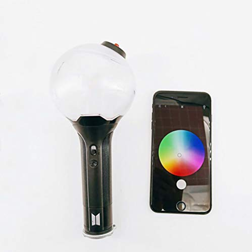BTS Army Bomb Concert Lichtstab , Bulletproof Youth League Konzerthilfe aid 3 Generation Bluetooth VER.3 Fan Handlicht (Stick Up Glühbirne)