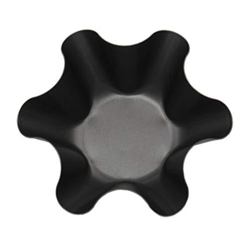 Mikiya Kannelée Tortilla Shell Stieltöpfe Taco Salatschüssel Makers Carbon Kochwerkzeug Stahl (Shell-maker Taco)