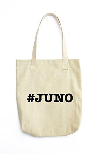 Juno Tote (nicknames JUNO nickname Hashtag printed Tote bag)