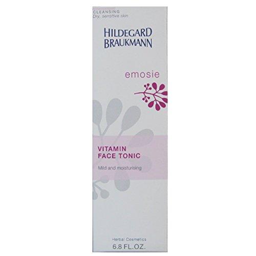 Hildegard Braukmann Emosie Women, Vitamin Face Tonic, 1er Pack (1 x 200 ml) - Aloe-gesichts-reinigungs-pads
