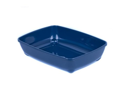 katzeninfo24.de adena Katzentoilette Schale 42 cm blau