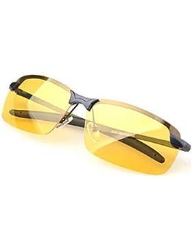 Gearmax® Gafas de sol Polarizadas de la Visión Nocturna para los Conductores Antideslumbrante de Conducción de...