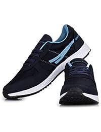 competitive price e9476 91473 SEGA Unisex Sky and Blue Marathon Running Shoes