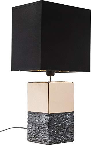 Kare Design Tischleuchte Creation Square Big, große Tischlampe, Stehleuchte, Stehlampe, Nachttischlampe, (H/B/T) 51x25x18cm