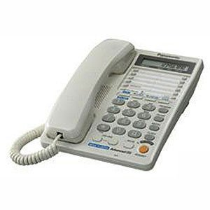 Panasonic Two line KX-T2378MXWD Corded Telephone (White)  available at amazon for Rs.3690
