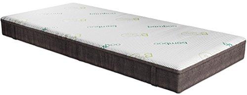 Fairmat Matratze Modern orthopädische Komfortschaummatratze   hochwertige Visco Beschichtung   3D-Würfelschnitt   7 Zonen   Wannenbezug   Höhe 23cm   Härtegrad H2   Größe 140x200cm - 2