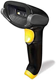 OSCAR UniBar II 1D QR 2D Barcode Scanner Reader   Automatic Area Imager   USB + Virual COM   Wired with Stand