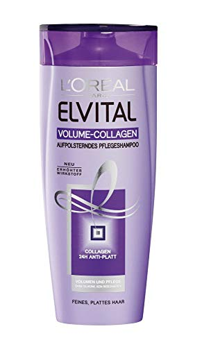 L'Oréal Elvive Shampoo - Volumen Collagen - für feines Haar - 6er Pack (6 x 250 ml)