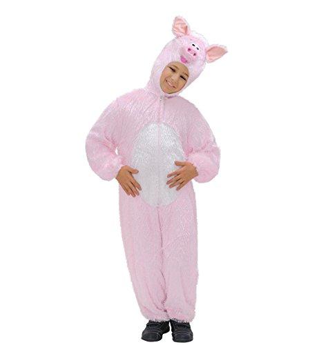 Widmann 9784i?Enfants Costume Cochon, combinaison avec masque, Env. 113cm