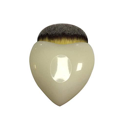 HOQING Augen Gesichts Lippen Professionelle Kosmetik Werkzeuge Make-Up Pinsel Sets Professionelle Bunte Muschel Herzförmig Herzförmig Dreifarbig