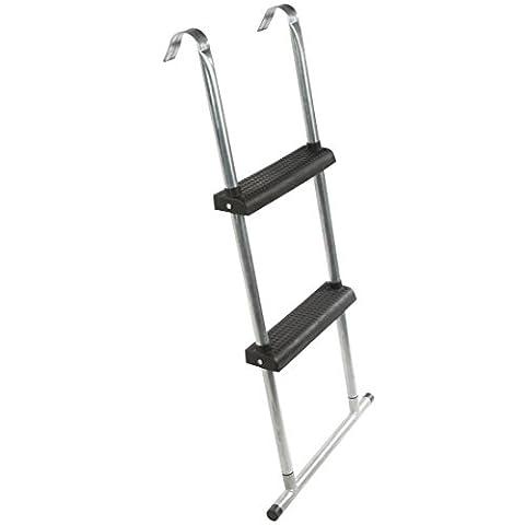 Ultrasport Trampolin-Leiter 95 cm mit Bodenquerstrebe, Einstiegshilfe fürs Trampolin, mit