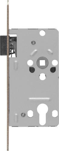 ABUS Tür-Einsteckschloss Profilzylinder TKZ20 für DIN-rechts Türen, hammerschlag-gold, 20811