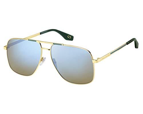Marc Jacobs Sonnenbrillen (MARC-387-S 1ED3U) gold - grün - grau-braun - blau verspiegelt