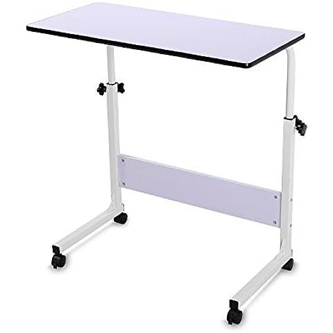 BUREI supporto regolabile in altezza scrivania Store su ruote in