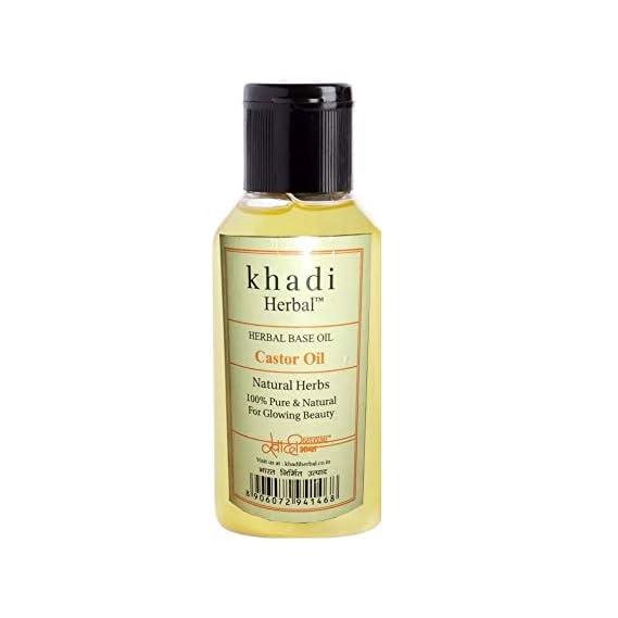 Khadi Herbal Castor Oil for Hair Growth - 100ml