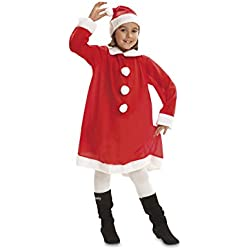 My Other Me Disfraz de Mama Noel para niña, 5-6 años (Viving Costumes 200425)