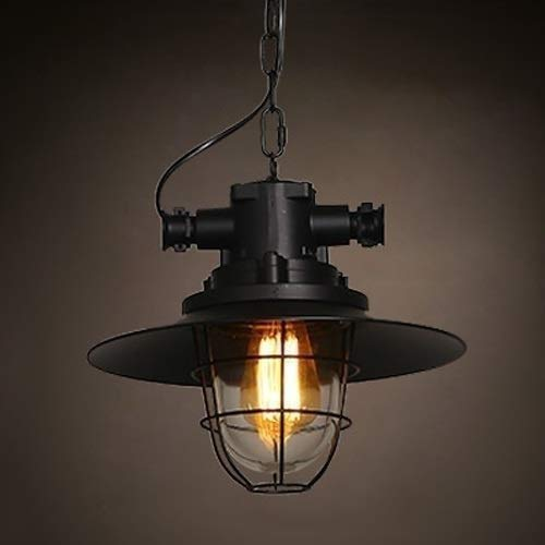 Cualquier leampp Retro lámpara ajustable jaula de metal creativa ...