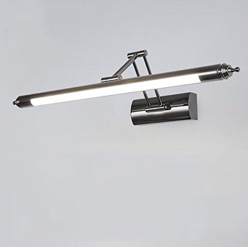 Yulight LED-Spiegel-Lichter, Spiegel-Kabinett-Licht (Größe: 560mm, 640mm) 180 ° Dimming, Badezimmer-moderner minimalistischer Spiegel-Licht-einziehbares Toiletten-Badezimmer-Licht-Spiegel-Licht