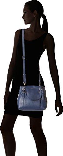 cm Umhängetasche Crépuscule Capucine Tanneur TAK1000 Le Blau 5x22x25 13 Damen n01qIUB