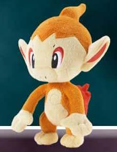 Pokemon Diamant et Perle Peluche / Plush / Figurine: Ouisticram 17 cm (J.P.)