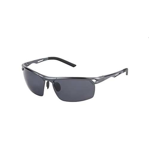 caeb28bfe81e Polarized metal frame sports sunglasses Offers full UV400 protection - 6  colors available Ideal for driving