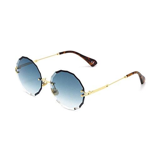 GUO Die Sonnenbrille runde Box das Blech Sonnenbrille E Verkleidung