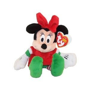 Ty Peluche de Noël Disney Minnie) (Walgreens exclusivités) (Ty Mickey Beanie)