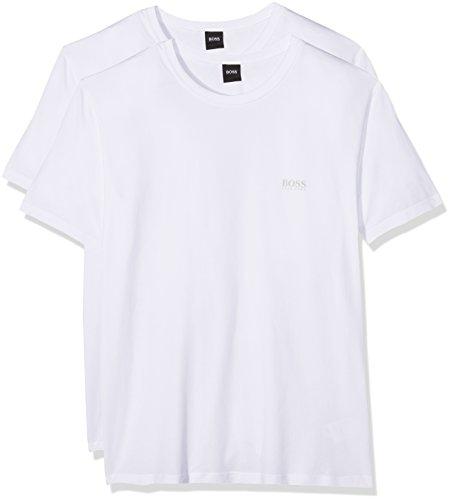 Boss Athleisure Tee 4, T-Shirt Homme, Blanc (White 100), XX-LargeBoss Green by Hugo Boss